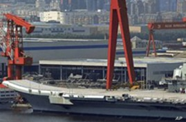 China's First Aircraft Carrier Completes Initial Sea Trials