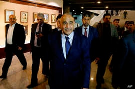 Iraqi Prime Minister Adel Abdul Mahdi issued a decree heavily curbing the powers of mostly Iranian-backed Shi'ite militias, July 1, 2019.