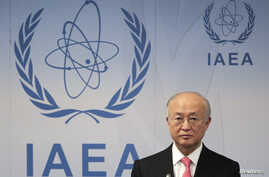 International Atomic Energy Agency Director General Yukiya Amano reacts as he attends a news conference at the UN headquarters in Vienna, Austria, March 4, 2013.