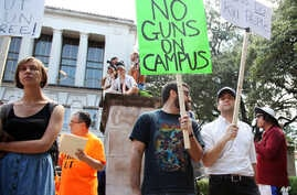 Texas Guns On Campus