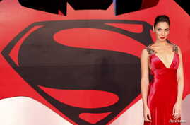 """Gal Gadot arrives for the European Premiere of """"Batman V Superman: Dawn of Justice"""" in Leicester Square in London, March 22, 2016."""