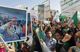 Libyan Protesters Express Rage, Call for Reforms