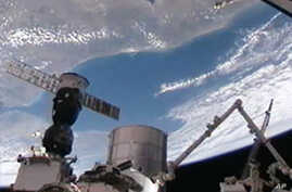 International Space Station Welcomes New Crew