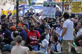 'Occupy Wall Street' Protest Joined by Labor, Community Groups