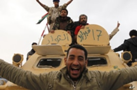 Who Are the Rebels Fighting Libyan Government Forces?