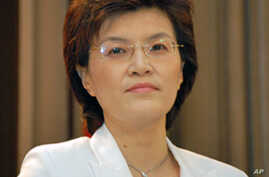Chinese Foreign Ministry spokeswoman Jiang Yu (File)