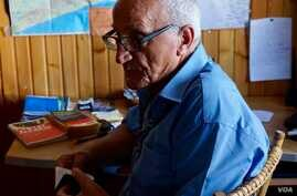 Fr. Carlo Ladicicco, a 65-year-old priest who returned to Italy after a 35-year-long mission to Peru to work with some of the poorest African migrants.