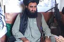 Mullah Abdul Manan is seen in an undated photo released by the Taliban.