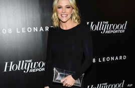 FILE - Television journalist Megyn Kelly attends The Hollywood Reporter's annual 35 Most Powerful People in Media event at The Pool in New York, April 12, 2018.