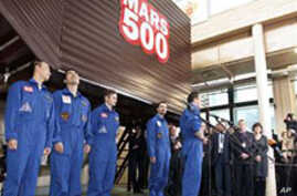 Crewmembers Say Mars 500 Experiment Went Well