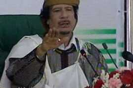 Gadhafi Says Libyan Oil Fields Are Secure