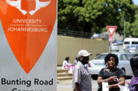 South Africa University Students Ponder Future