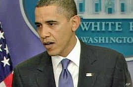 President Barack Obama during the daily press briefing, 09 Feb 2010