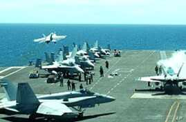 US Nuclear-Powered Carrier at Forefront of Joint War Games with S. Korea