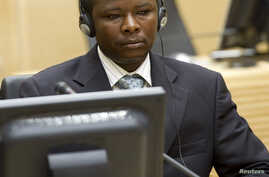 Saleh Mohammed Jerbo Jamus, suspected of having committed war crimes in Darfur, arrives voluntarily at the International Criminal Court in The Hague June 17, 2010.
