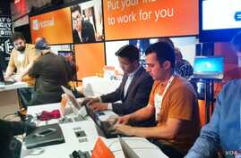 Hotmail's Galileo Vieira hopes to convince tech-savvy skeptics that the free Microsoft email service has improved.