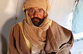Libya to Discuss Trial Arrangements for Gadhafi Son with ICC