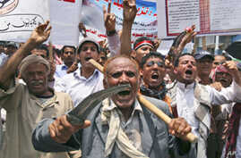 Tens of Thousands of Yemenis Call for Saleh's Sons to Leave Yemen