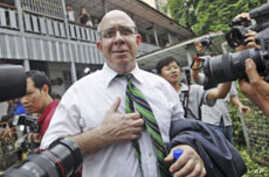 Australian Publisher Convicted in Burma, Sentenced to Time Served