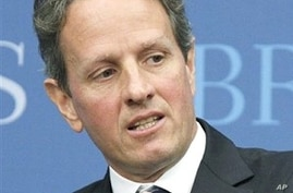 Geithner to Pursue Currency Norms at G20 Meeting