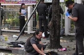 Thai Government Insists Bangkok Blasts Not Terrorism-Related