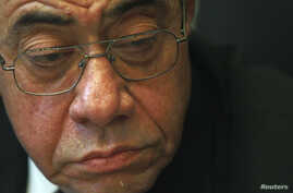 Egypt's General Prosecutor Abdel Maguid Mahmoud sits in his office in the High Court in Cairo, (File Photo).