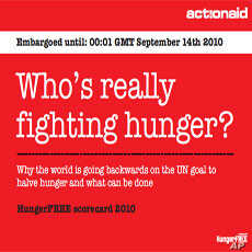 Hunger Costs Poor Nations $450 Billion Annually