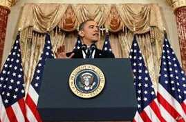Obama Delivers Key Speech on Middle East