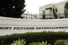 Sony Pictures Entertainment headquarters in Culver City, Calif. on Tuesday, Dec. 2, 2014.