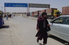 The border crossing between Pakistan and Afghanistan has been closed since Friday, Aug. 24, 2016. (Photo: A. Khan/VOA)