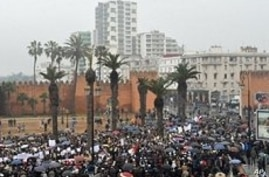 2,000 March in Moroccan Capital to Demand Political Reforms