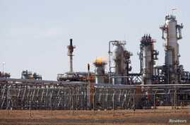 FILE - A view of Krechba gas treatment plant, about 1200 km (746 miles) south Algiers, Dec. 14, 2008.