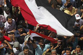 Thousands Protest to 'Save the Revolution' In Egypt