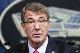 Defense Secretary Ash Carter speaks during a news conference at the Pentagon, Jan. 28, 2016, where he announced the latest in his Force of the future reforms.