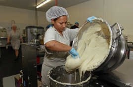 FILE -  Preparation of gluten-free dough at Pure Knead bakery in Decatur, Georgia.