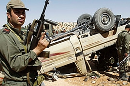 Libyan Forces Clash with Tunisian Soldiers