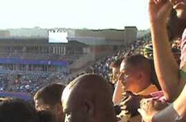 Fans at 2010 World Cup in South Africa