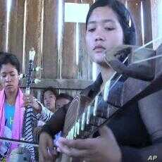 Students of Khmer music masters record and promote a Cambodian tradition that is threatened with extinction, March 6, 2012.
