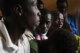 eenage Orphans listen as officials explain that the Noel Orphanage will be downsized, and they will be relocated.