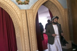 Progress Reported in Talks on Afghan Parliament