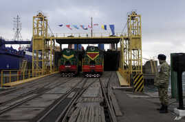 Ukraine New Railway Link