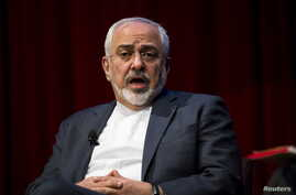 FILE - Iranian Foreign Minister Mohammad Javad Zarif.