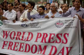 Pakistan World Press Freedom Day