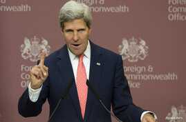 Secretary of State John Kerry says Sept. 9, that a chemical weapons deal could avert U.S. attacks on Syria.