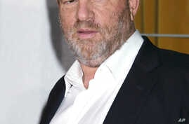 "FILE - Harvey Weinstein is seen at the premiere of ""Vicky Cristina Barcelona"" in Los Angeles, CA."