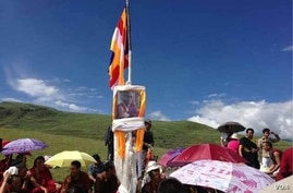 Tibetans in China's Sichuan province attempt to commemorat