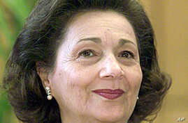 Official: Mubarak's Wife Stable After Illness