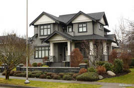 A home owned by the family of Huawei CFO Meng Wanzhou, who is being held on an extradition warrant, is pictured in Vancouver, British Columbia, Canada, Dec. 8, 2018.