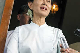 Burmese Pro-Democracy Leader Appeals for Labor Rights