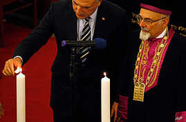 Turkey Marks Holocaust Remembrance Day